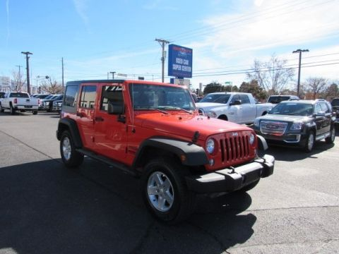Pre-Owned 2015 Jeep Wrangler Unlimited Sport