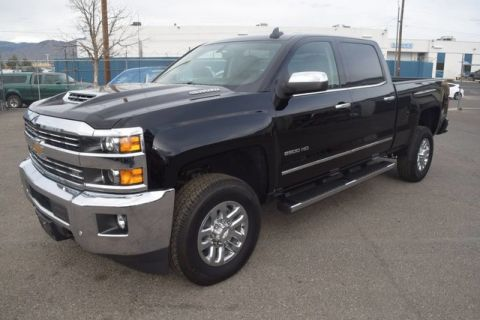 Pre-Owned 2017 Chevrolet Silverado 2500HD LTZ 4X4